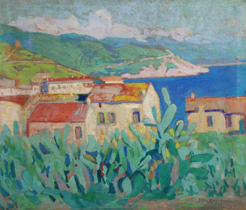 Pejzaż śródziemnomorski, 1912