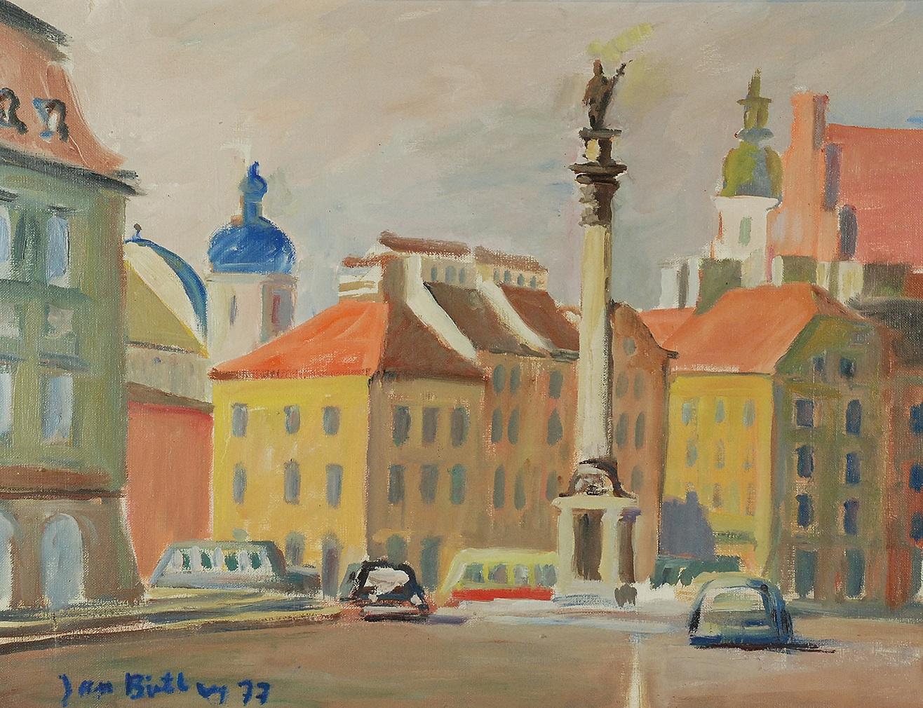 Kolumna Zygmunta, 1977