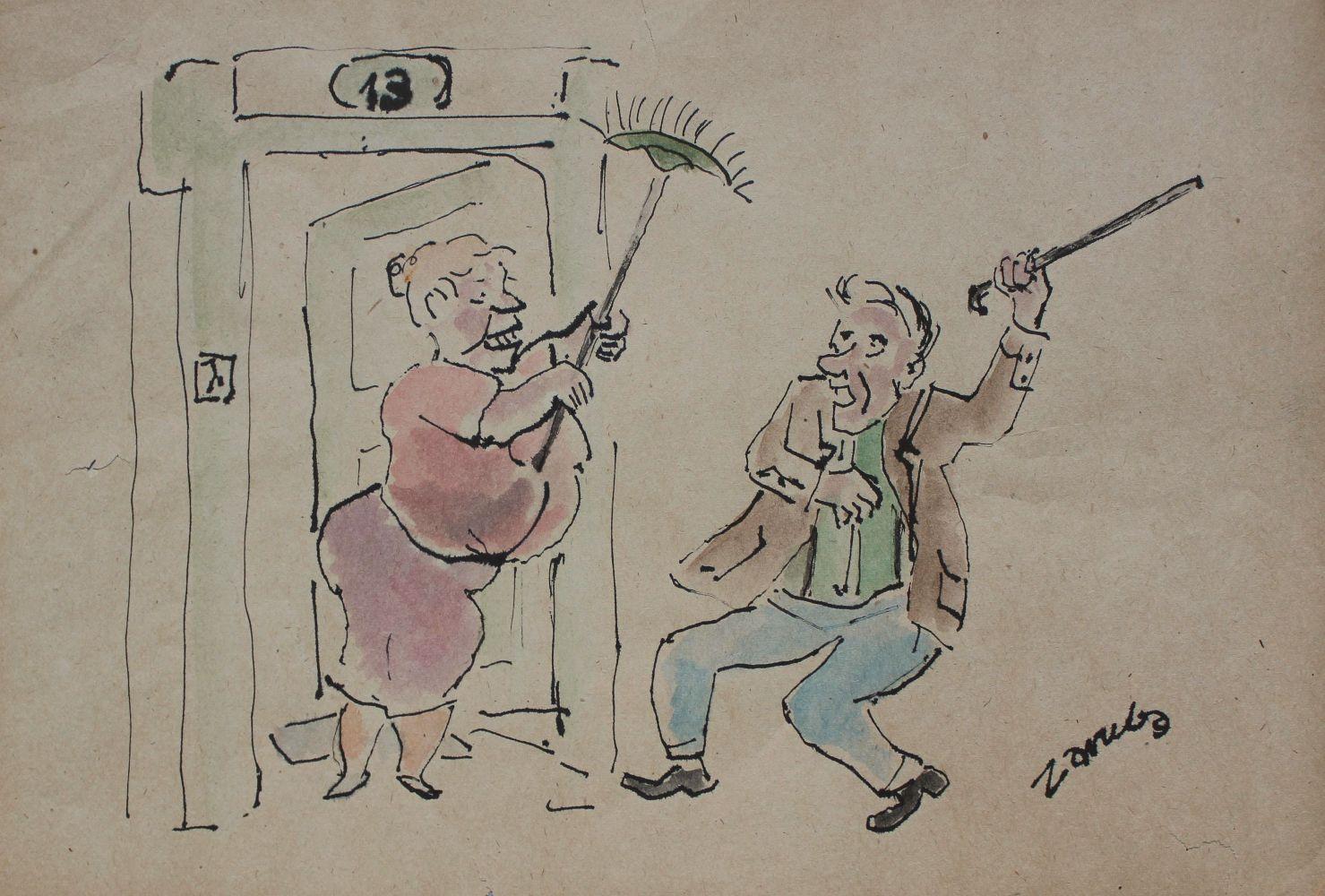 Rysunek satyryczny
