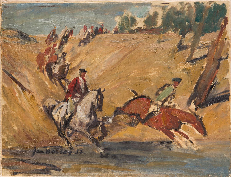Przeprawa przez rzekę, 1957 r.