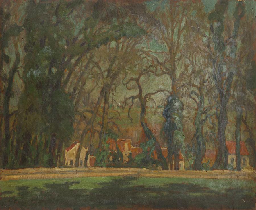 Pejzaż z Pontoise, 1932 r.
