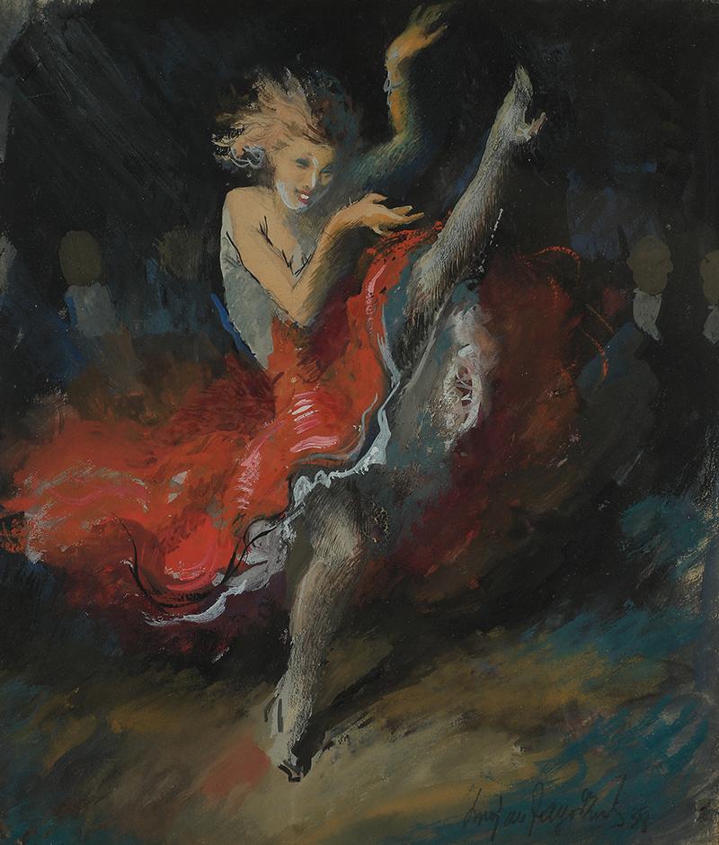Tancerka, 1938 r.