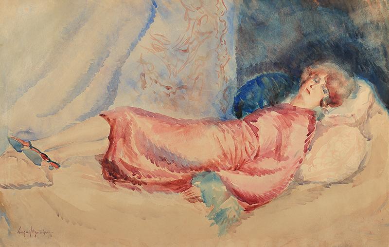 Odpoczynek, 1941 r.