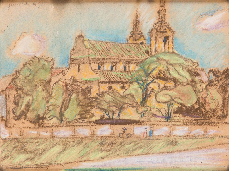 Kościół na Skałce w Krakowie, 1944 r.