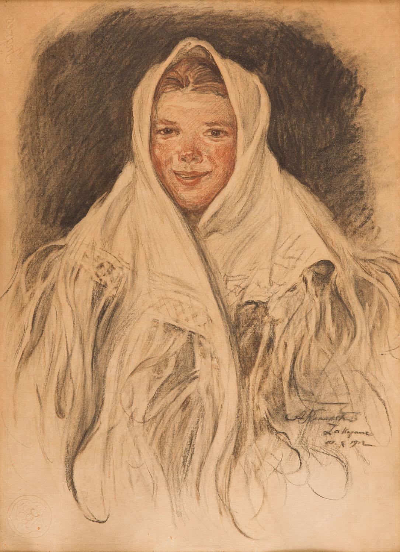 Dziewczyna góralska, 1912 r.