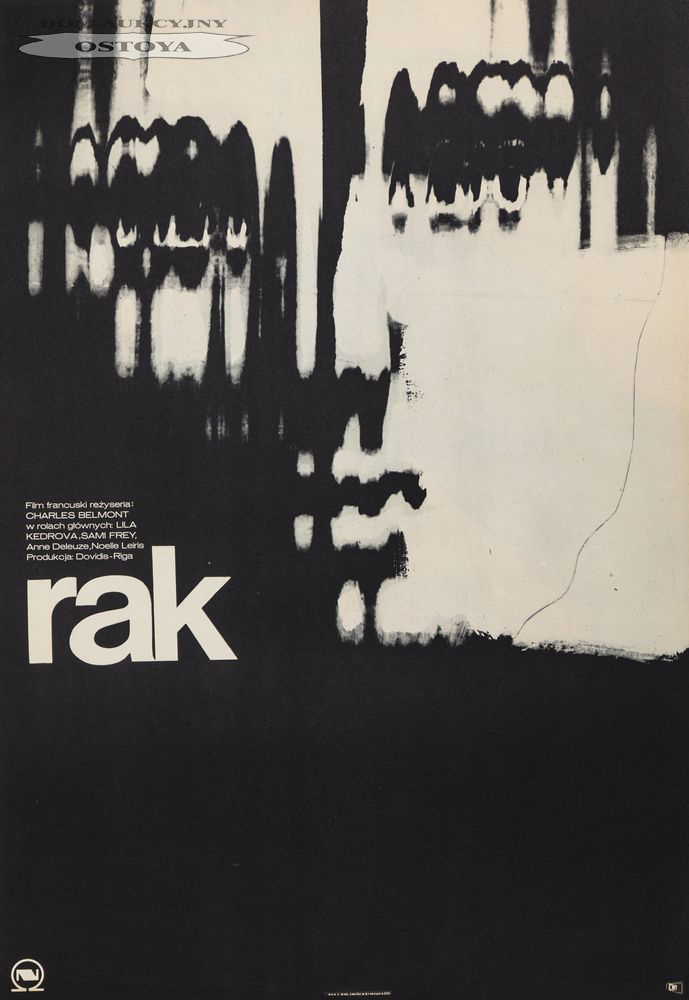 Plakat do filmu RAK, 1972