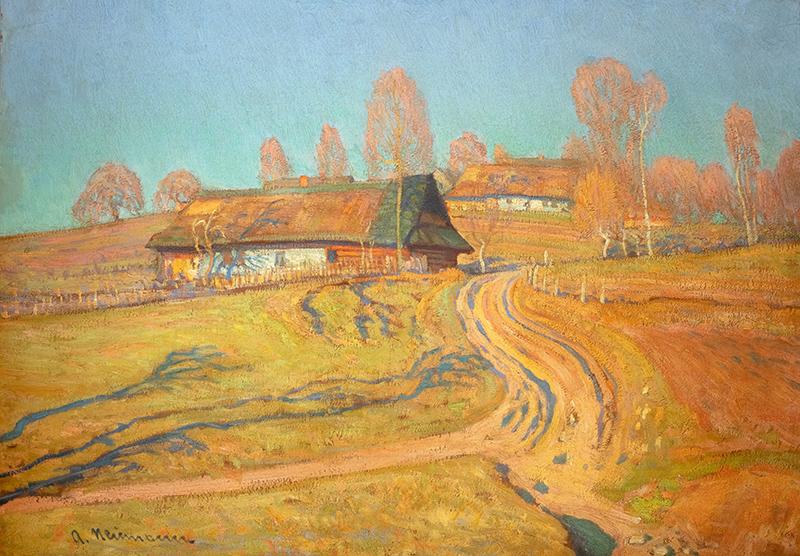 Wieś jesienią