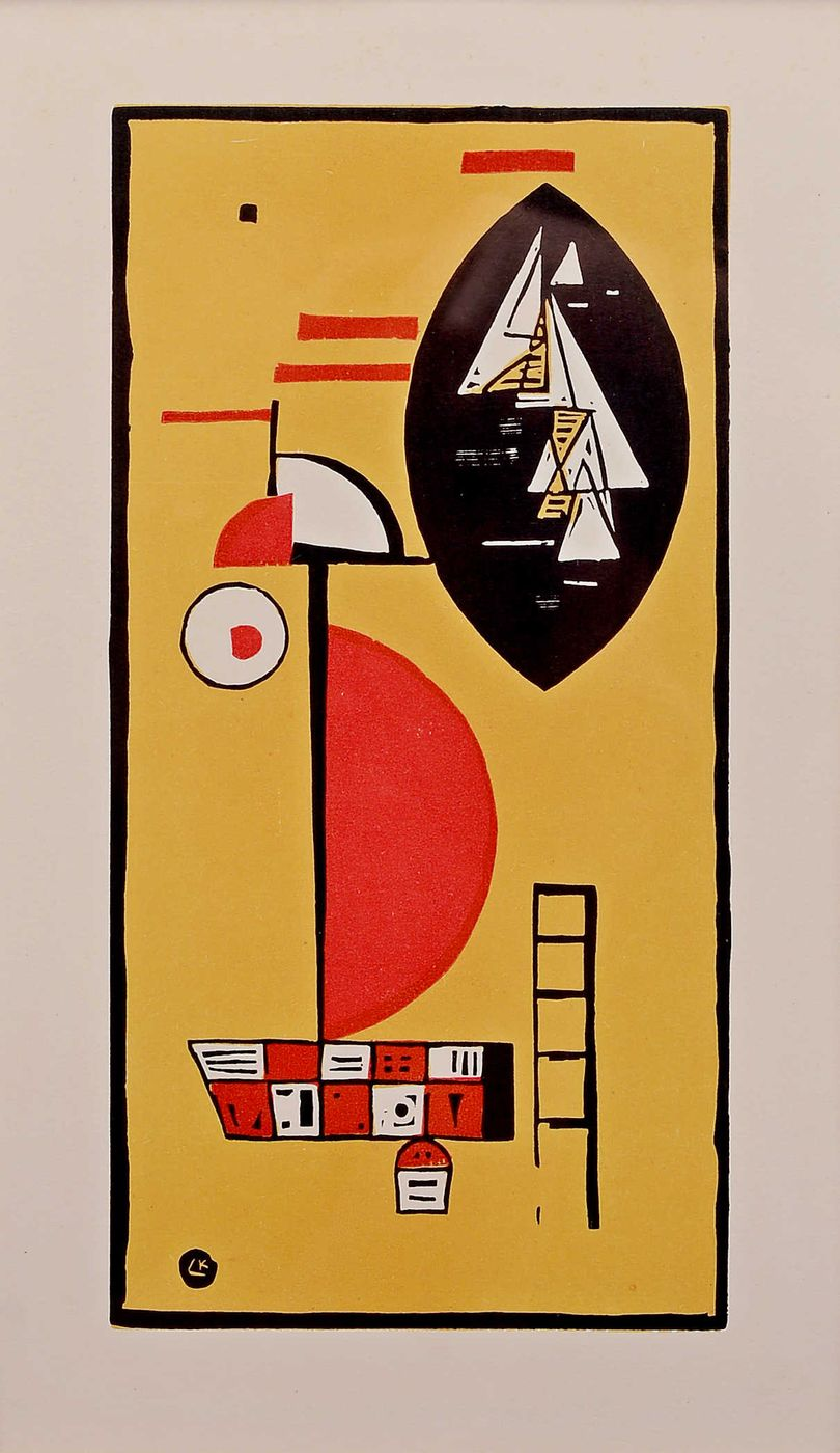 """Woodcut for Editions """"Cahiers d'Art"""", 1930"""