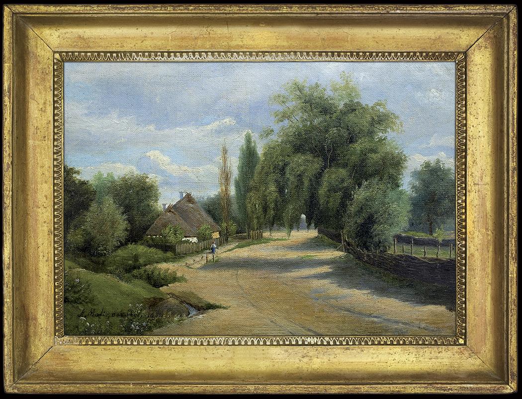 DROGA PRZEZ WIOSKĘ, 1852