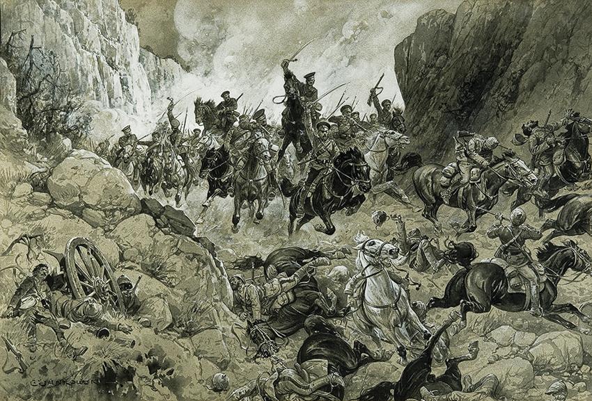 EPIZOD Z WALK ROSYJSKO-TURECKICH, 1915