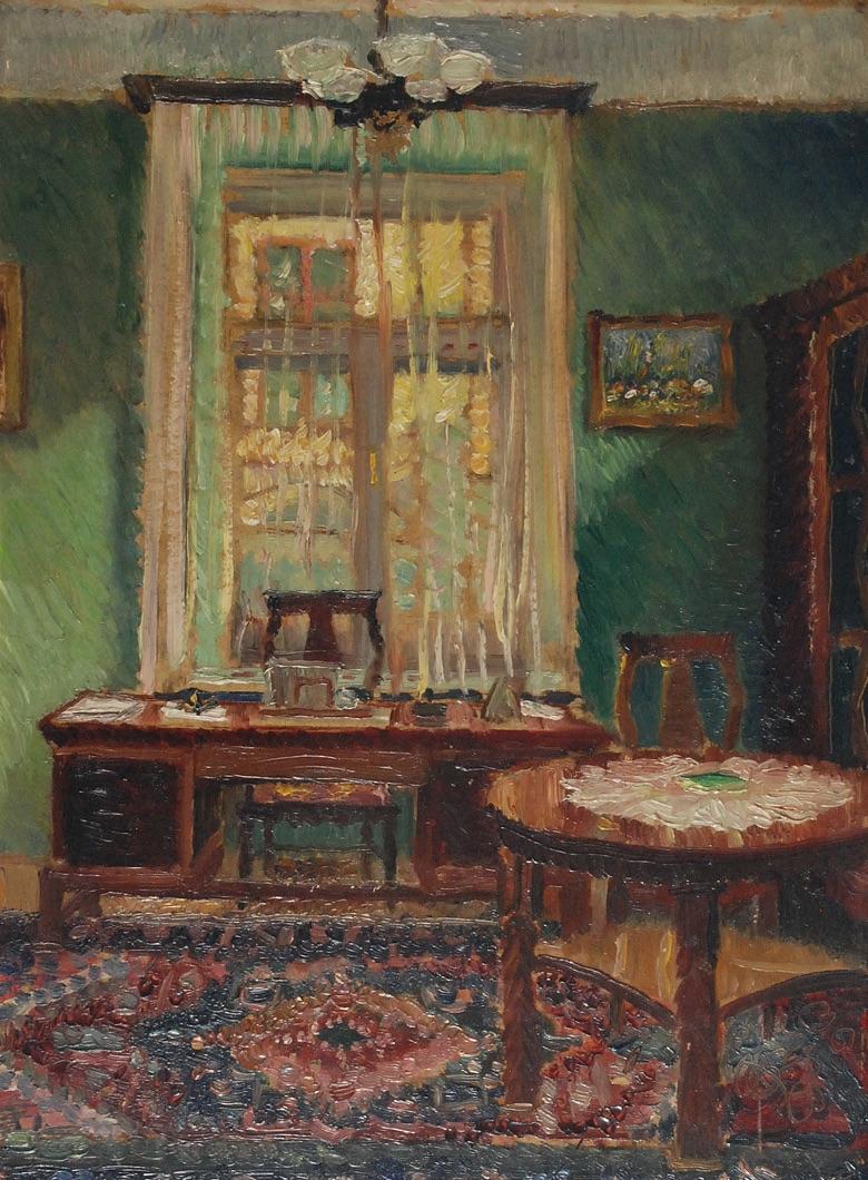 Wnętrze gabinetu, 1934
