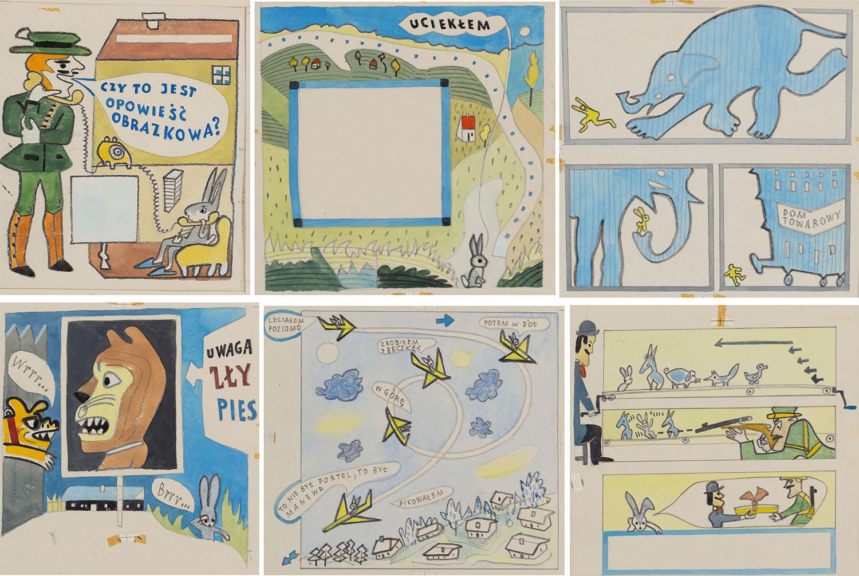 Szare Uszko. Czy to jest historia obrazkowa?, kompletny komiks, 1975 r.