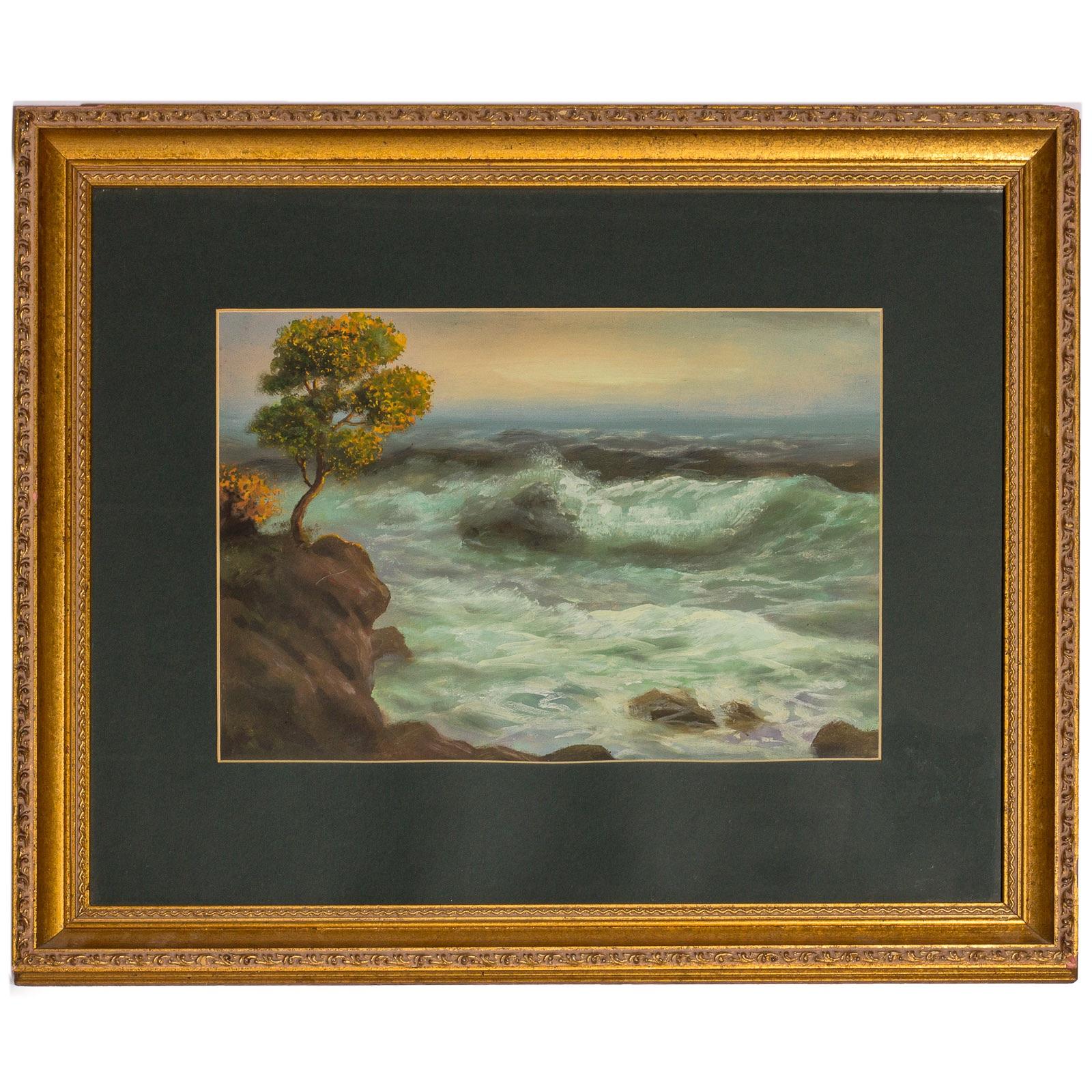Pejzaż morski, 1938