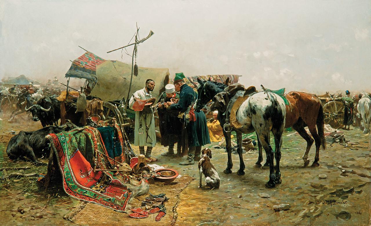 Jarmark w Bałcie na Podolu, 1886 r.