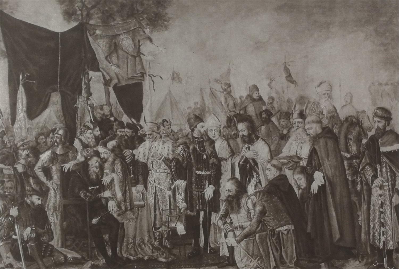 Hołd rycerzy inflandzkich, 1874