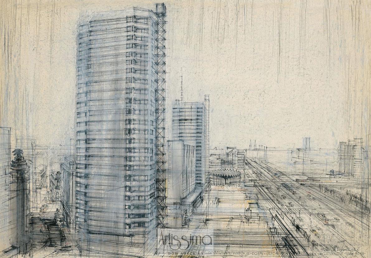 Warszawa - Ściana Wschodnia, 1964