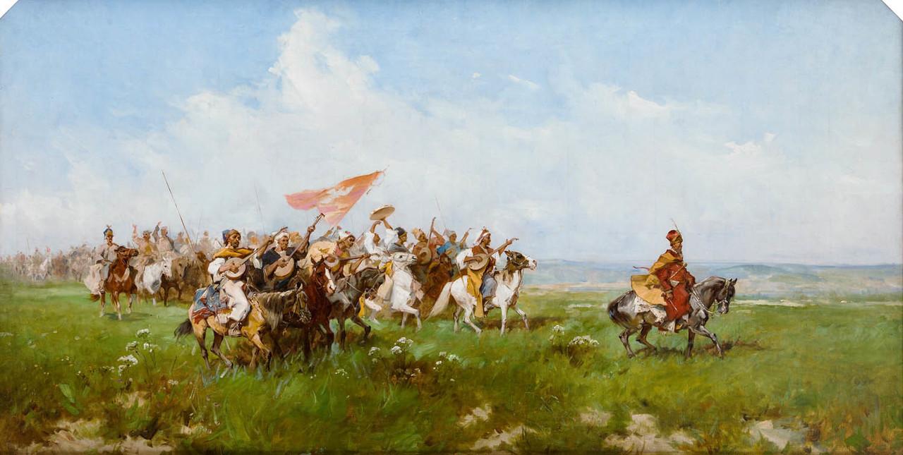 Powitanie stepu, 1878-79