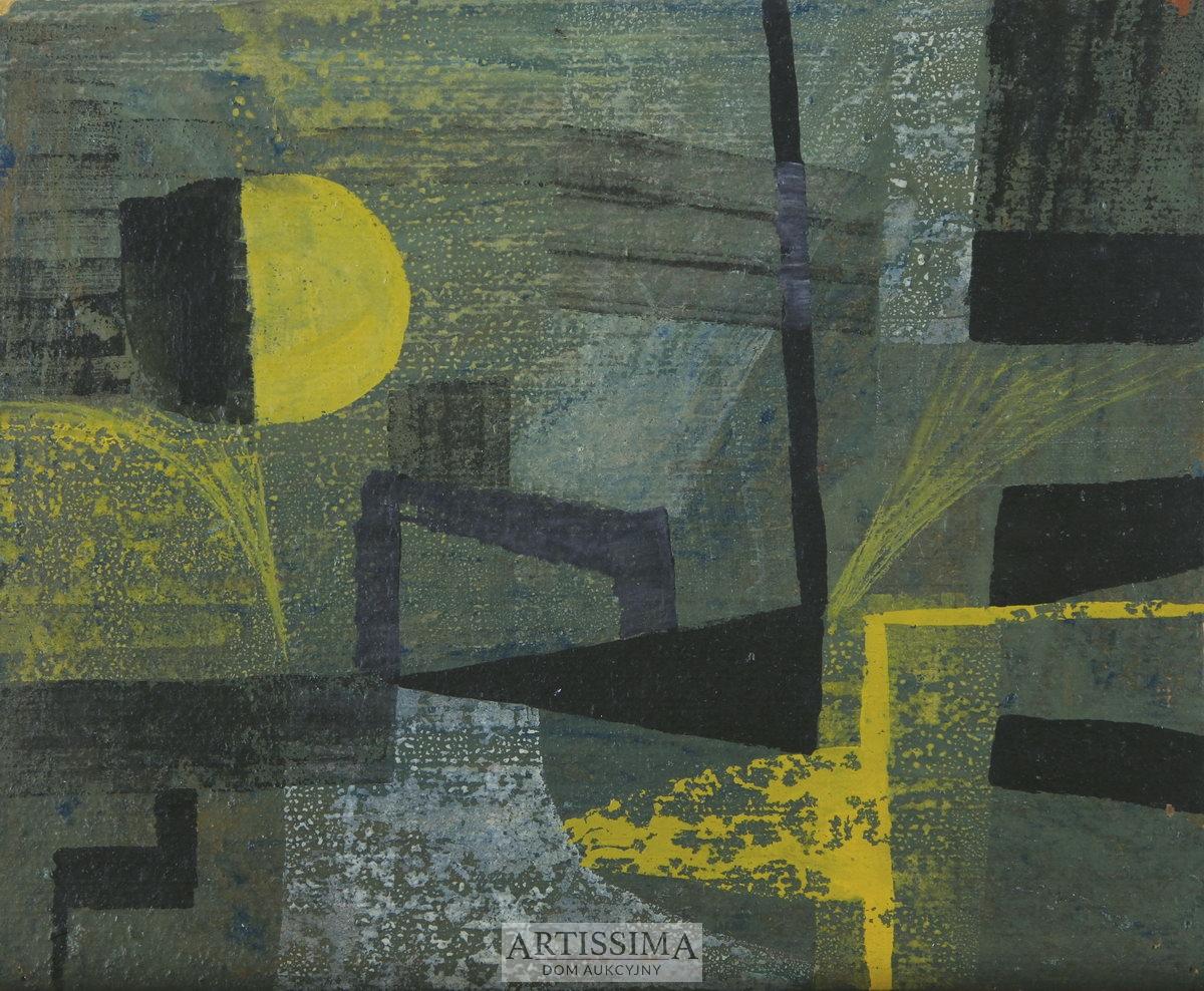 Kompozycja geometryczna, 1956