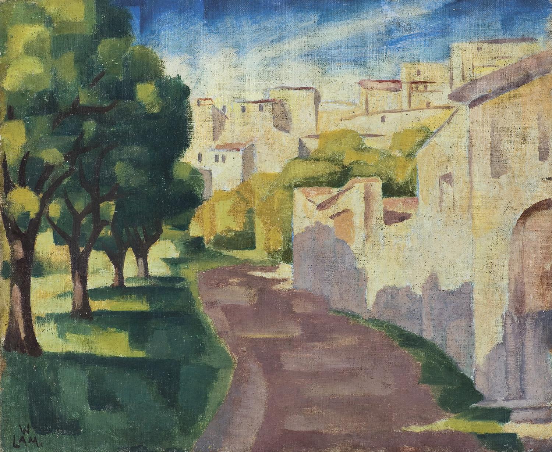 CAGNES. ULICZKA II, 1925