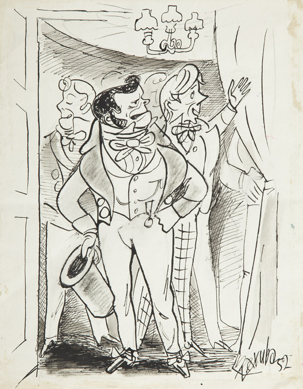 W saloniku, 1952 r.
