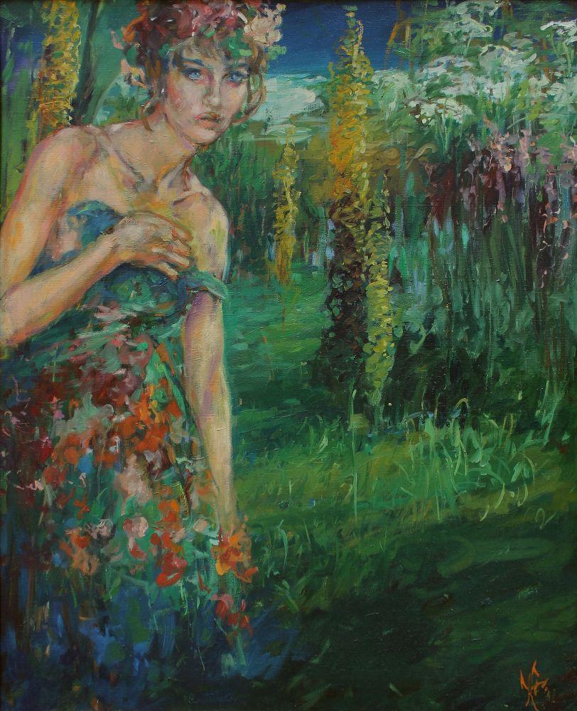 Flora z cyklu Ogrody mojej wyobraźni (1998)