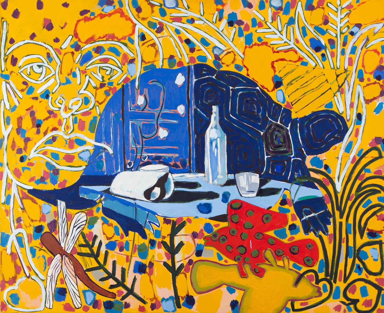 Samotna martwa natura - Artaud - smutek cierpiących przedmiotów (Pracownia artysty), 1999 r.