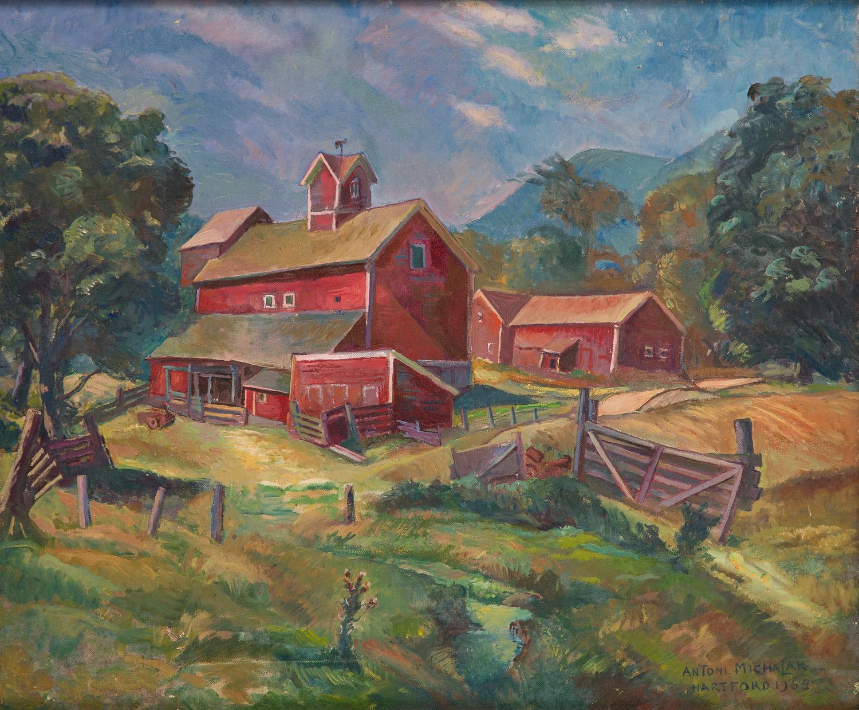 Farma w Hartford, 1964 r.