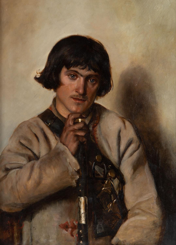 Portret młodzieńca z Bronowic, 1887 r.