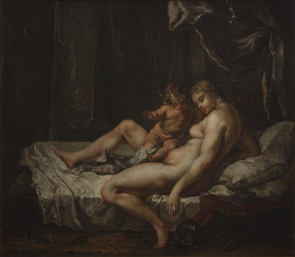 Wenus z amorem (wg Nicolausa Knüpfera)