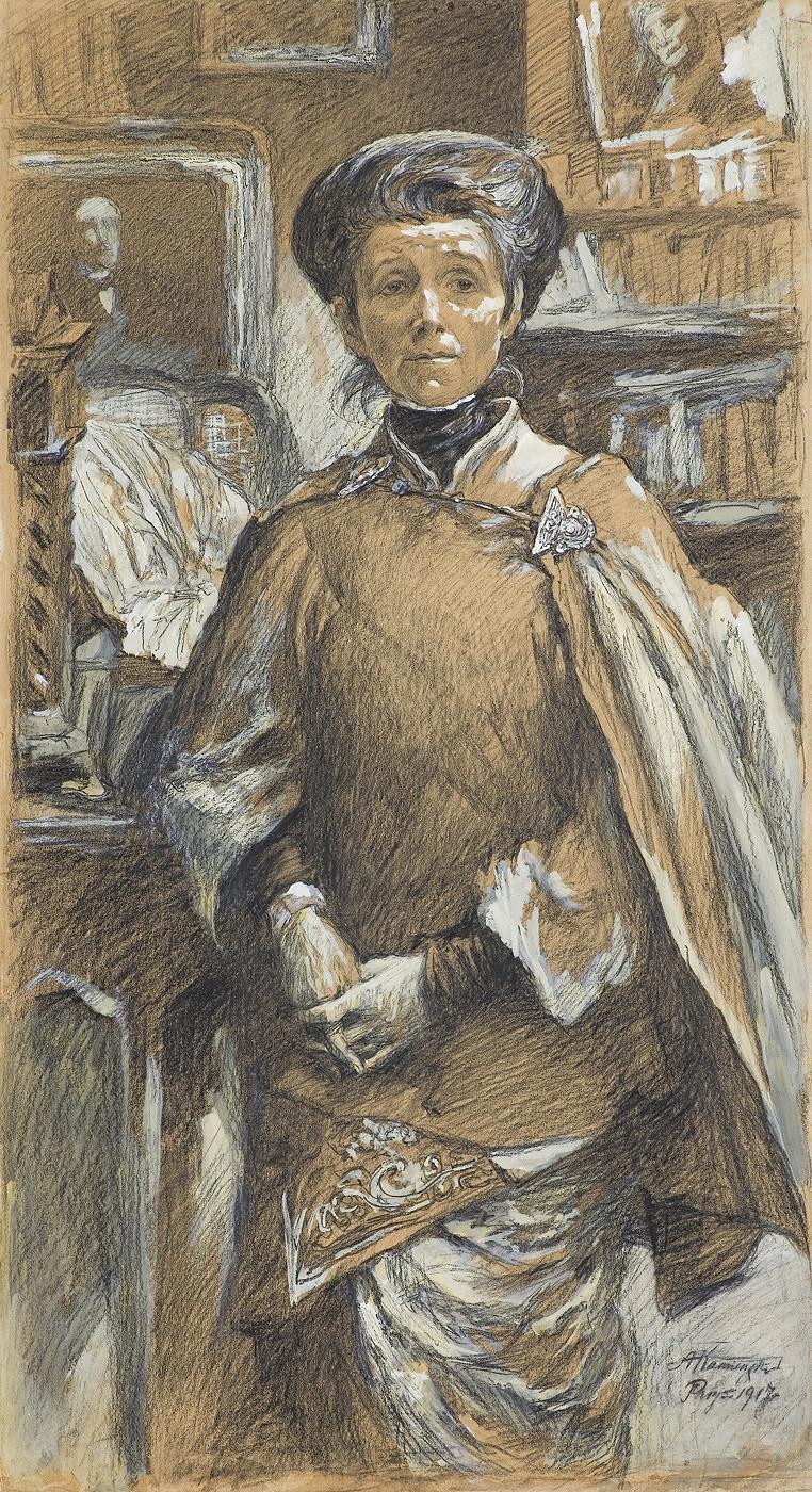 PORTRET OLGI BOZNAŃSKIEJ, 1917