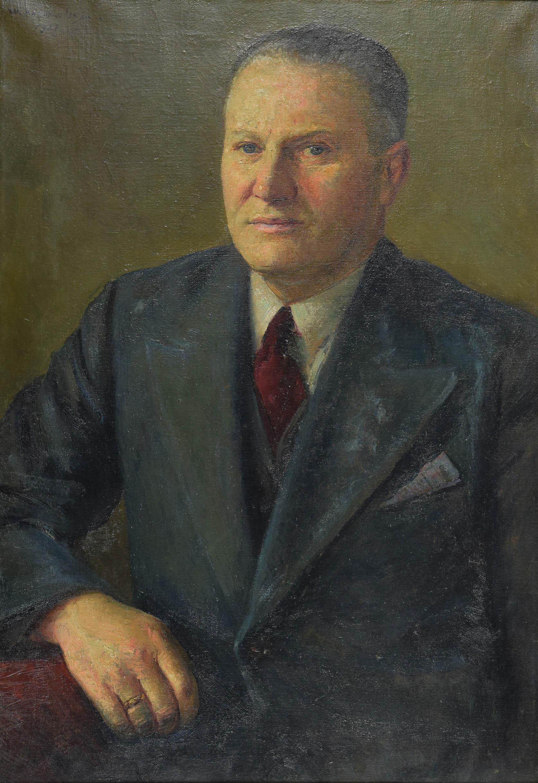 Portret mężczyzny w garniturze, 1937