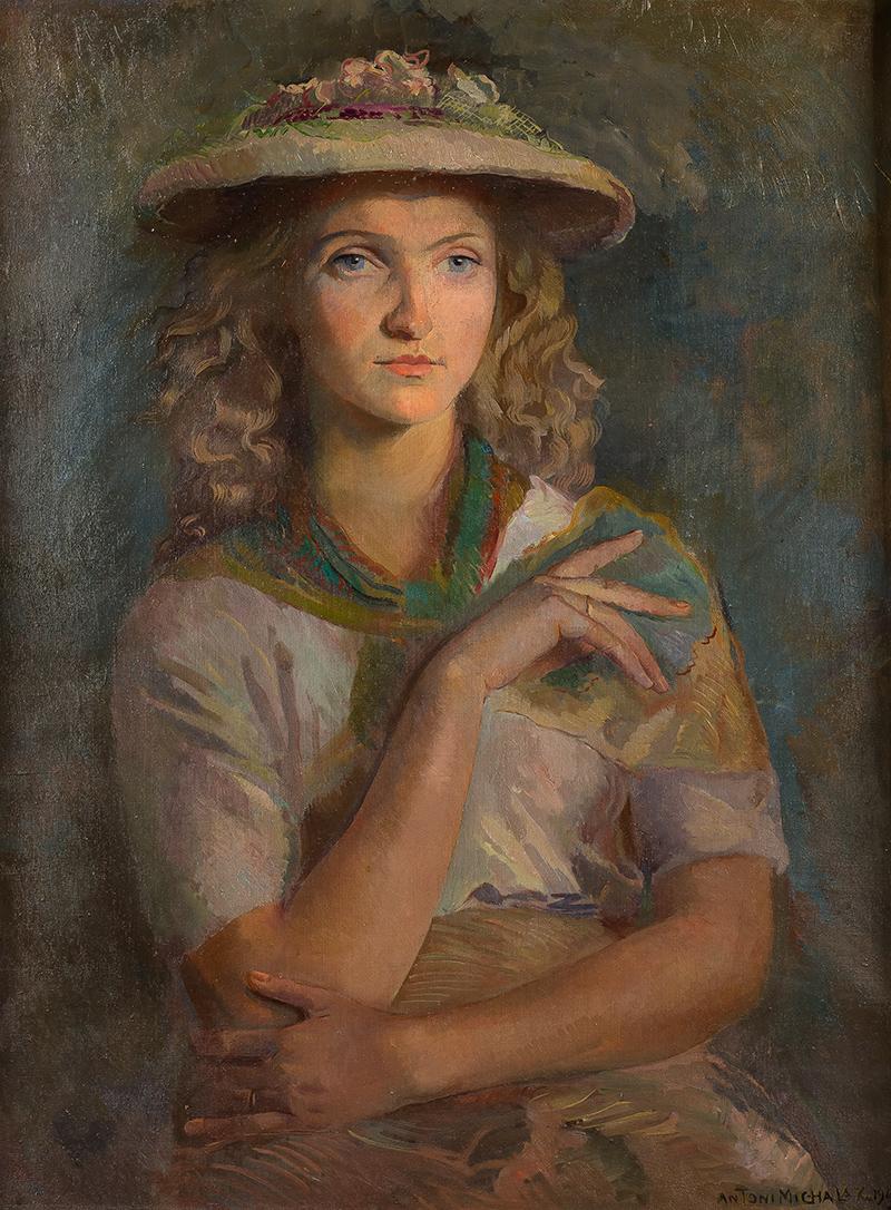 Portret kobiety, 1949 r.