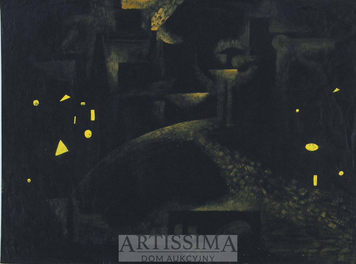 Kompozycja abstrakcyjna, 1954