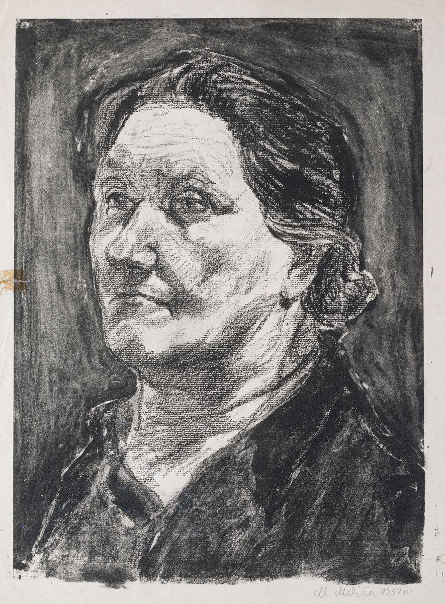 GŁOWA KOBIECA, 1952