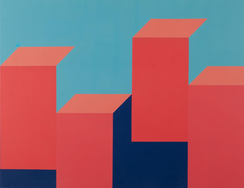 Z cyklu 'City', Geometric II, 2019 r.