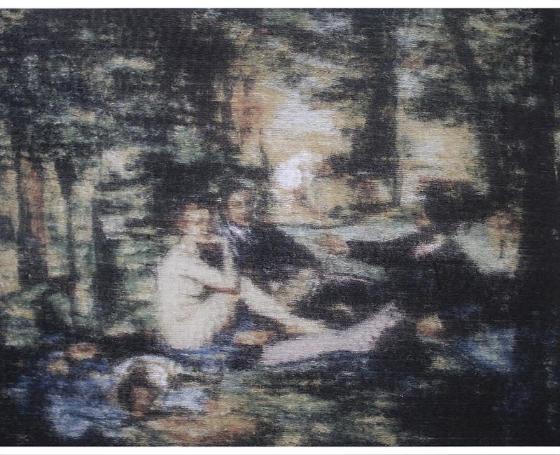 Édouard Manet - śniadanie na trawie, 2018