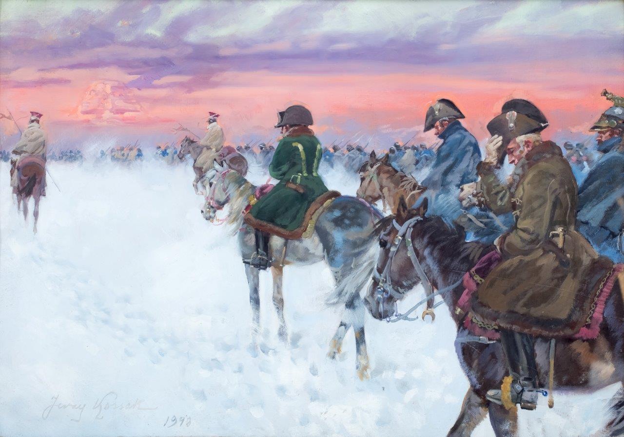 Wizja Napoleona w odwrocie spod Moskwy, 1940 r.