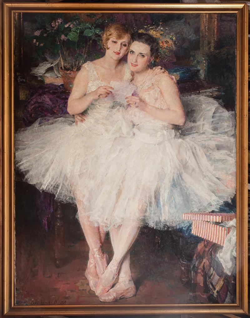 Pierwszy list miłosny (Tancerki), 1928 r.