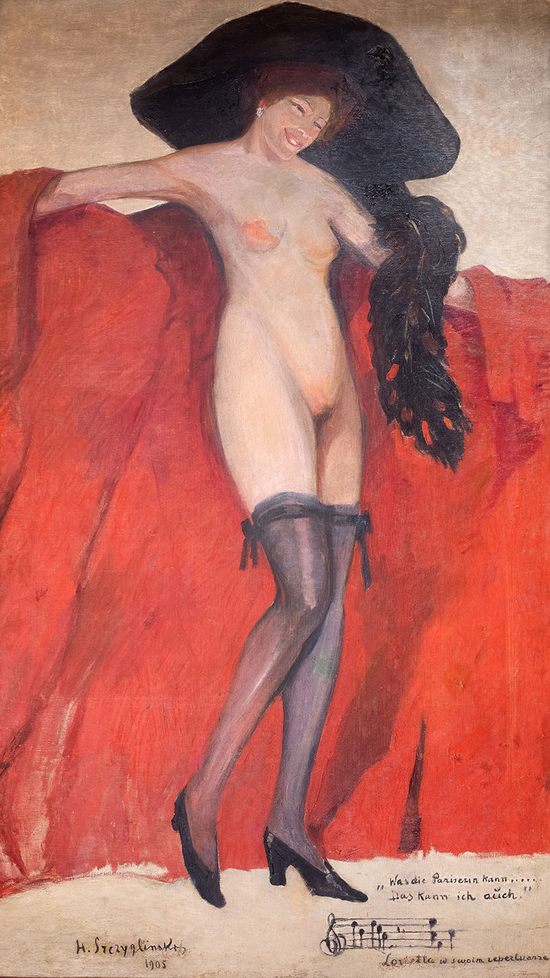 Lorietta w swoim repertuarze, 1905 r.