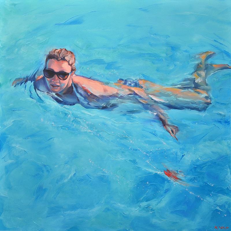 """Madame Ev 09 z cyklu """"Swimming Pool"""", 2019"""