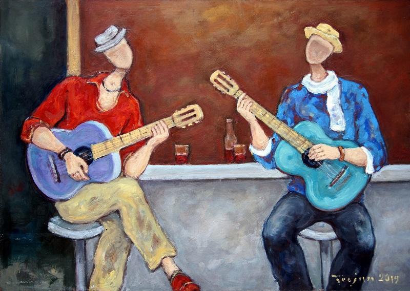 Blues na dwie gitary, 2019