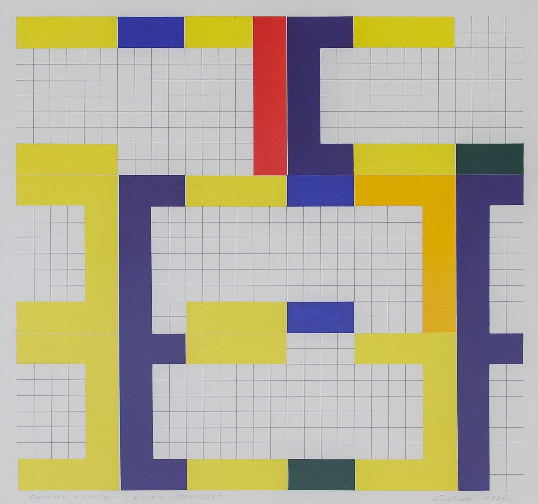 Opowieść o dwojgu, z cyklu: Ikonostas, 1986