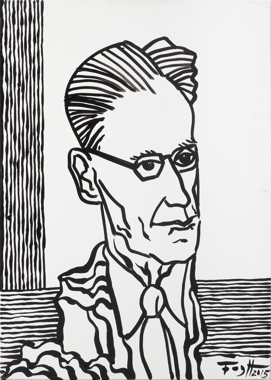 Portret Józefa Czapskiego, 2015