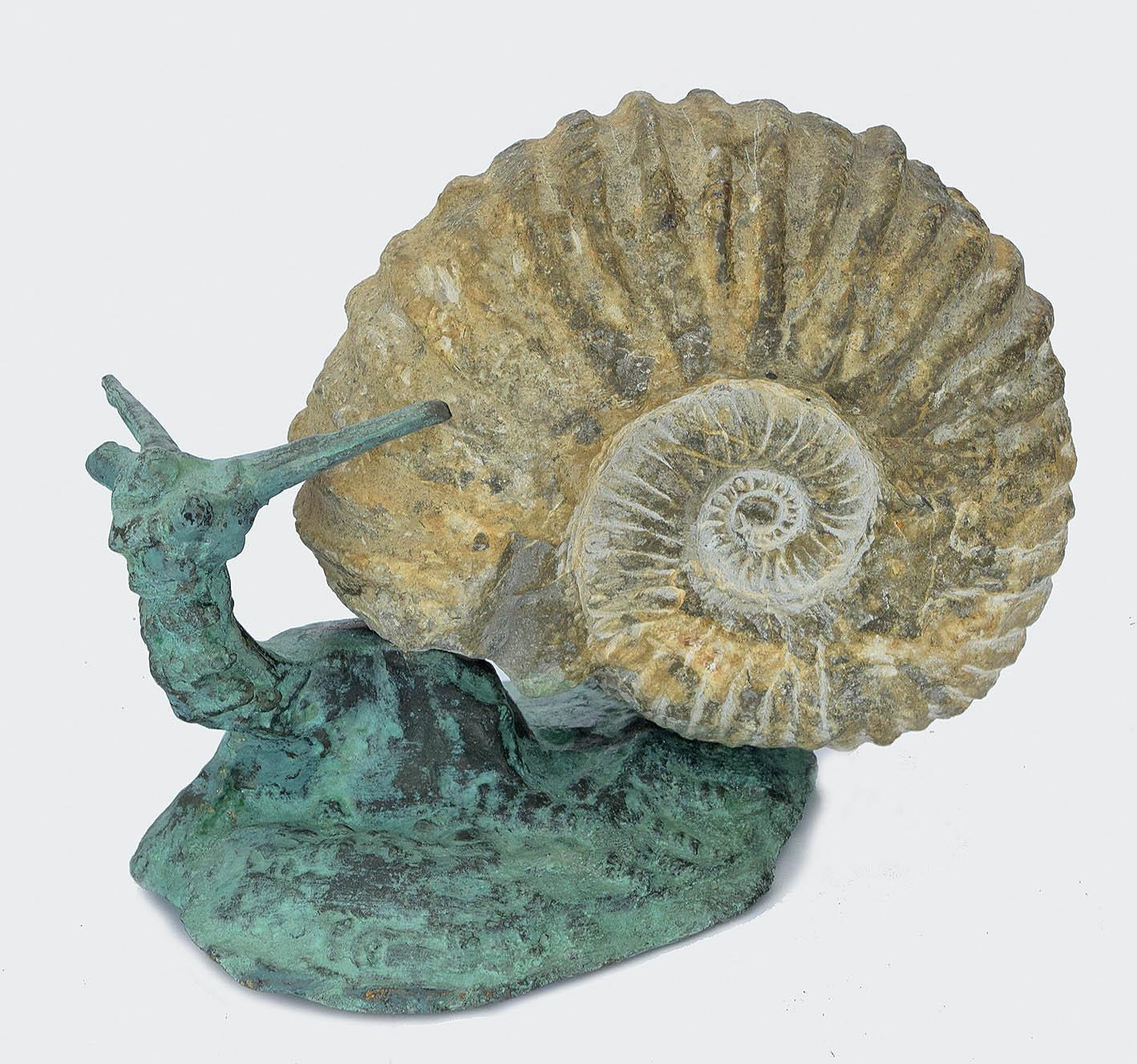 Ślimak, z cyklu: Rzeźba ponadczasowa