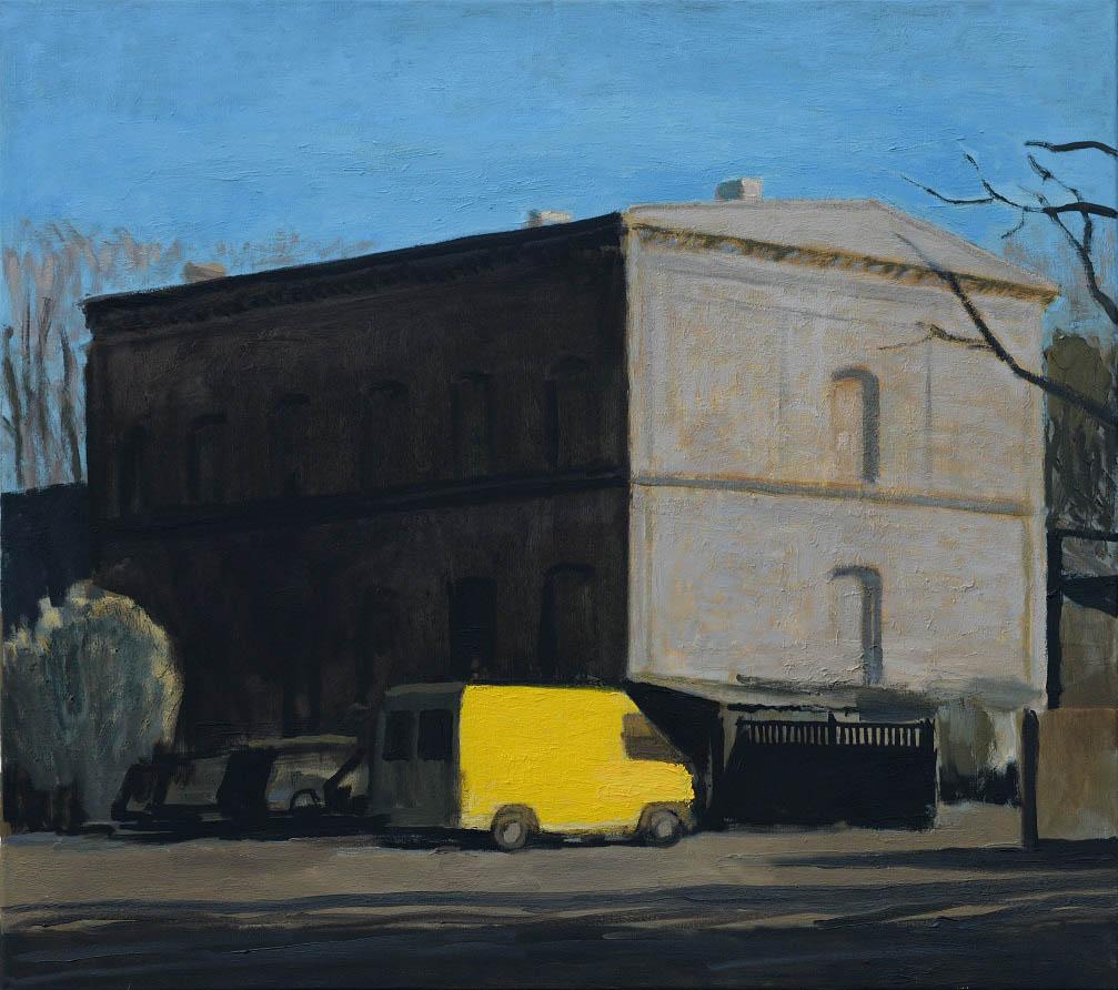 Żółta ciężarówka, 2015r.