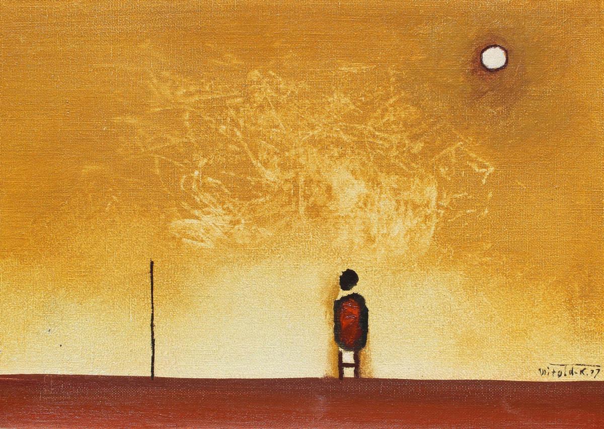 Patrzący na słońce, 1977r.