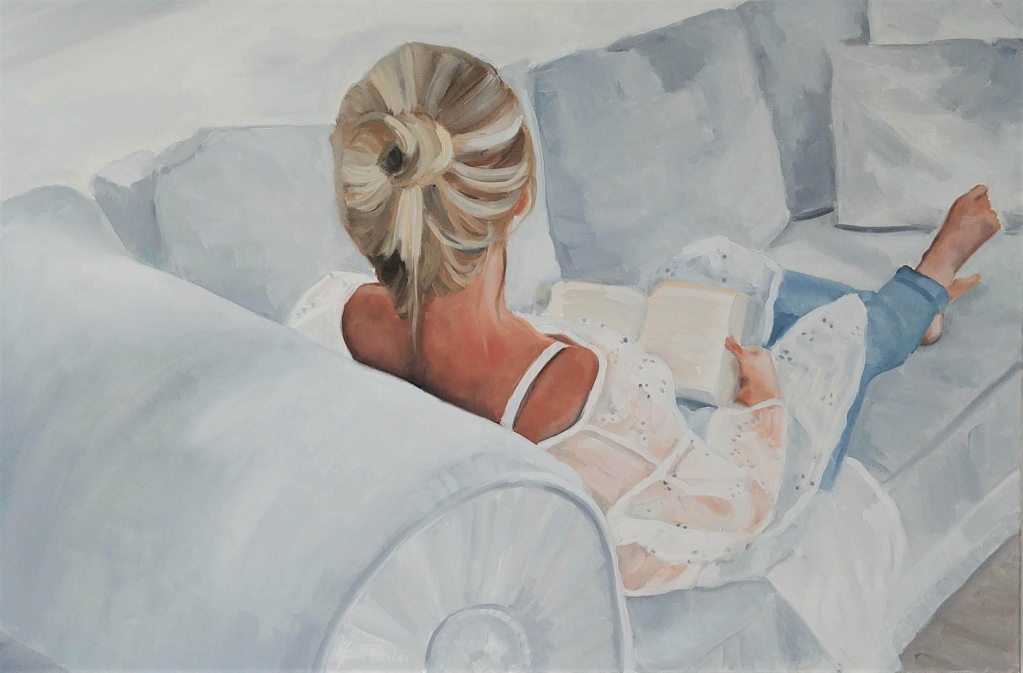 Kobieta na sofie, 2019r.