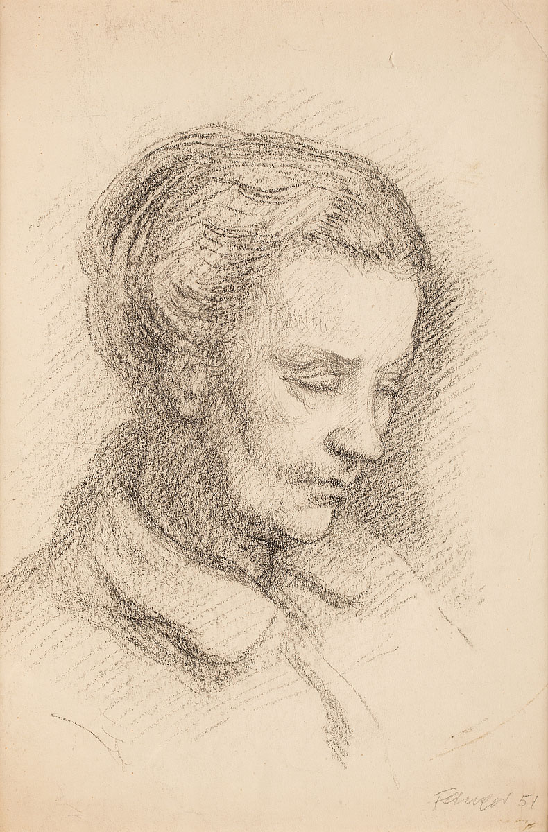 Portret matki, 1951