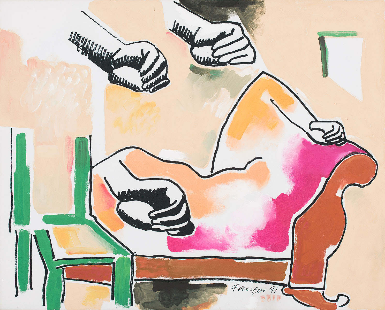 Ręce, 1991-2010