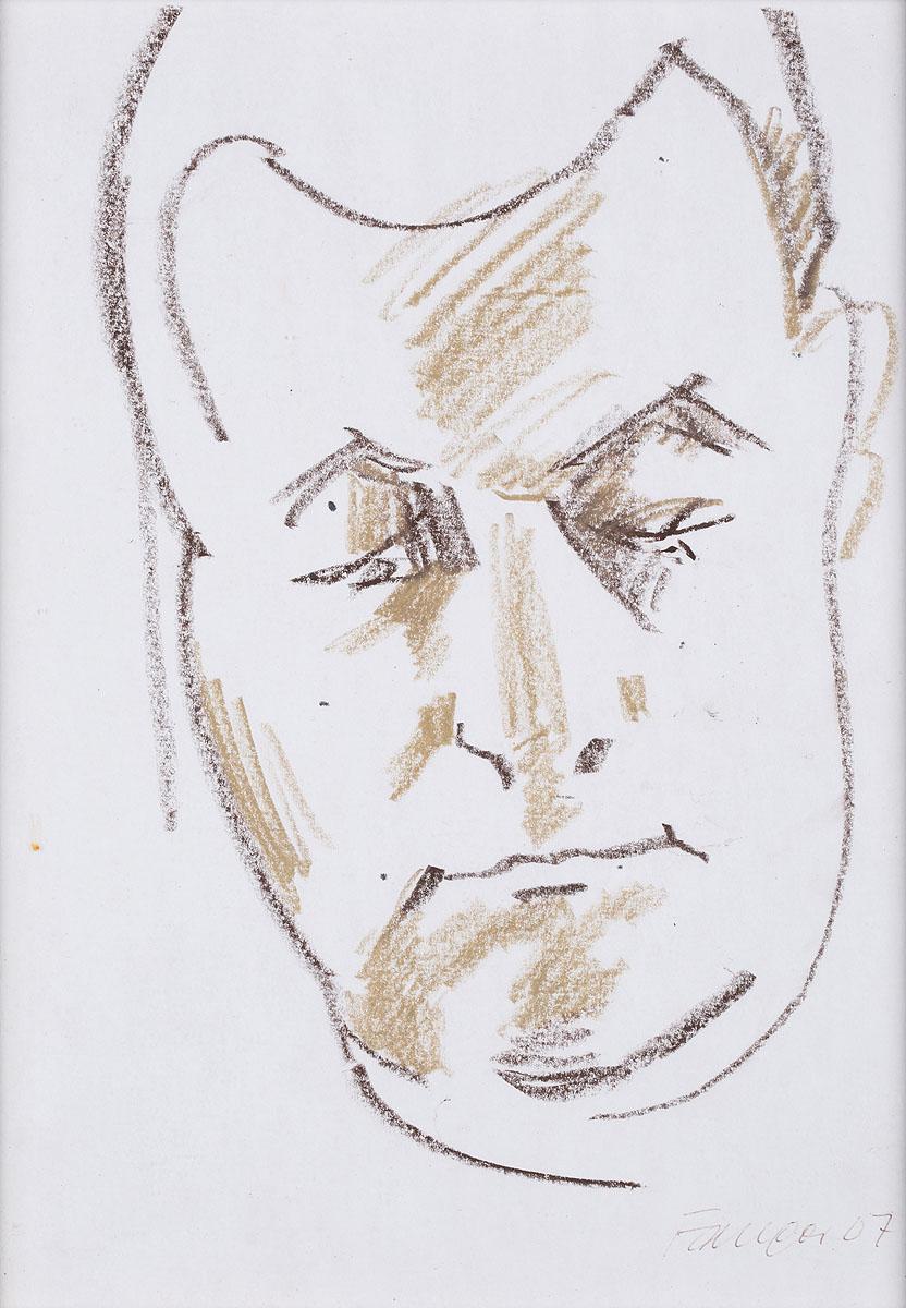 Portret mężczyzny, 2007